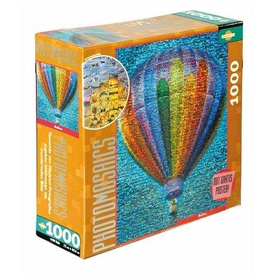 photomosaik heissluftballon 1000 teile puzzle online kaufen. Black Bedroom Furniture Sets. Home Design Ideas