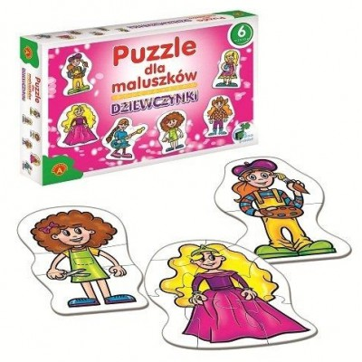 Alexander-0540 6 Puzzles - Mädchen