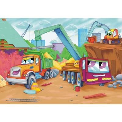 Puzzle Alexander-0608 Auf der Baustelle