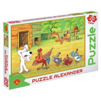 Puzzle Alexander-0616 XXL Teile - Rex