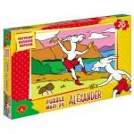 Puzzle  Alexander-0901 XXL Teile - Koziołek Matołek