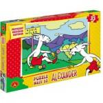 Puzzle  Alexander-0902 XXL Teile - Koziołek Matołek