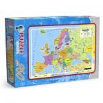 Puzzle  Maxim-Puzzle-0538 Europakarte in polnische