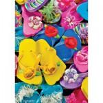 Master-Pieces-31526 Kleinstes Puzzle der Welt - Flippity Flops