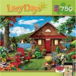 Puzzle  Master-Pieces-61402 Alan Giana - Lazy Days - Waterfront