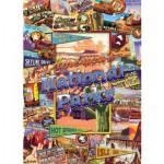 Puzzle  Master-Pieces-71132 Nationalpark