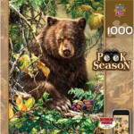 Puzzle  Master-Pieces-71356 Peek Season - Berry Bear