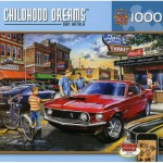 Puzzle  Master-Pieces-71467 Childhood Dreams - Dave's Diner
