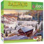 Puzzle  Master-Pieces-71544 Railway - Wabash Cannonball Run