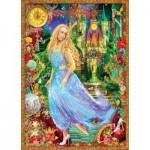 Puzzle  Master-Pieces-71554 Book Box - Aschenputtel