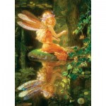 Puzzle  Master-Pieces-71648 Kinuko Craft Tin - Claires Wings