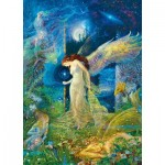 Puzzle  Master-Pieces-71650 Kinuko Craft Tin - Elfland