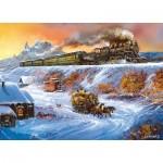 Puzzle  Master-Pieces-71653 Railways - Coyote Special