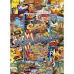 Puzzle   Travel Suitcase - See America