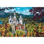 Puzzle  Cobble-Hill-50707 Deutschland: Schloss Neuschwanstein