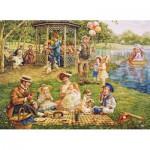 Puzzle  Cobble-Hill-51705 Lee Dubin: Familienpicknick