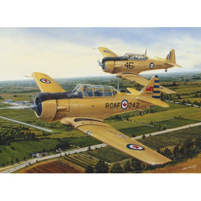 Puzzle Cobble-Hill-51714 Lance Russwurm: Harvards Up Early