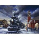 Puzzle  Cobble-Hill-51717 Lance Russwurm: Zu Weihnachten zuhause