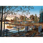 Puzzle  Cobble-Hill-51739 William Kreutz: Fernab