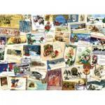 Puzzle  Cobble-Hill-51765 Viktorianische Glückwunschkarten