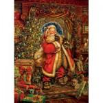 Puzzle  Cobble-Hill-51784 Weihnachtsstimmung