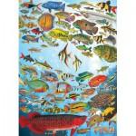 Puzzle  Cobble-Hill-51794 Tropische Fische