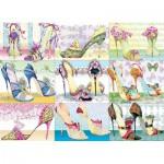 Puzzle  Cobble-Hill-51797 Die Schuhe