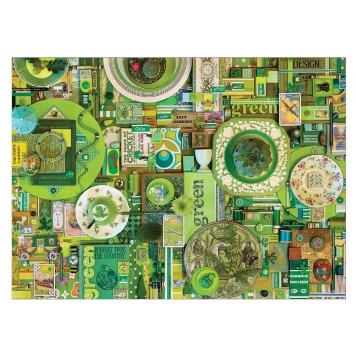 Shelley Davies: Green