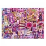 Puzzle  Cobble-Hill-51866 Shelley Davies: Purple