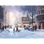 Puzzle  Cobble-Hill-52023 XXL Teile - Douglas Laird: Winterabend