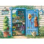 Puzzle  Cobble-Hill-52049 XXL Teile - Janet Kruskamp: Willkommen im Garten