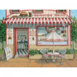 Puzzle  Cobble-Hill-52050 XXL Teile - Janet Kruskamp: Hamburger Haven