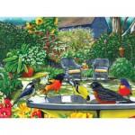 Puzzle  Cobble-Hill-52079 XXL Teile - Das Vogelbad
