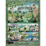 Puzzle  Cobble-Hill-52109 XXL Teile - McKenna Ryan - Dog Park