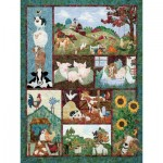 Puzzle  Cobble-Hill-52110 XXL Teile - McKenna Ryan - Back on the Farm