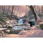 Puzzle  Cobble-Hill-52113 XXL Teile - Mark Keathley: Black Bear Brook