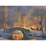 Puzzle  Cobble-Hill-52114 XXL Teile - Mark Keathley: Winter in the Park
