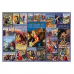 Puzzle  Cobble-Hill-53004 Vintage Nancy Drew
