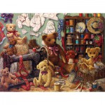 Puzzle  Cobble-Hill-54326 XXL Teile - Teddybären-Werkstatt