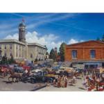 Puzzle  Cobble-Hill-54330 XXL Teile - Lance Russwurm: Bauernmarkt