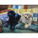 Puzzle  Cobble-Hill-54337 XXL Teile - Gary Moss: Unser Sofa