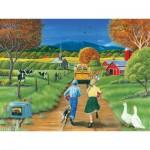 Puzzle  Cobble-Hill-54560 Spät dran