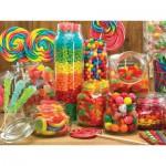 Puzzle  Cobble-Hill-54568 Genug Bonbons für jeden