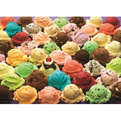 Puzzle Cobble-Hill-57153 Ice Cream