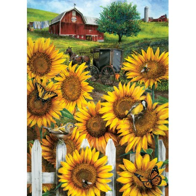 Puzzle Cobble-Hill-57167 Country Paradise