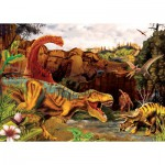 Puzzle  Cobble-Hill-58855 Dinos