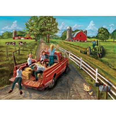 Puzzle Cobble-Hill-70015 Heuschlacht
