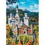 Puzzle  Cobble-Hill-70036 Deutschland: Schloß Neuschwanstein