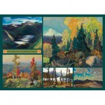 Puzzle   Franklin Carmichael - Collage - Carmichael Collection