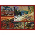 Puzzle   J.E.H. MacDonald - Collage - MacDonald Collection